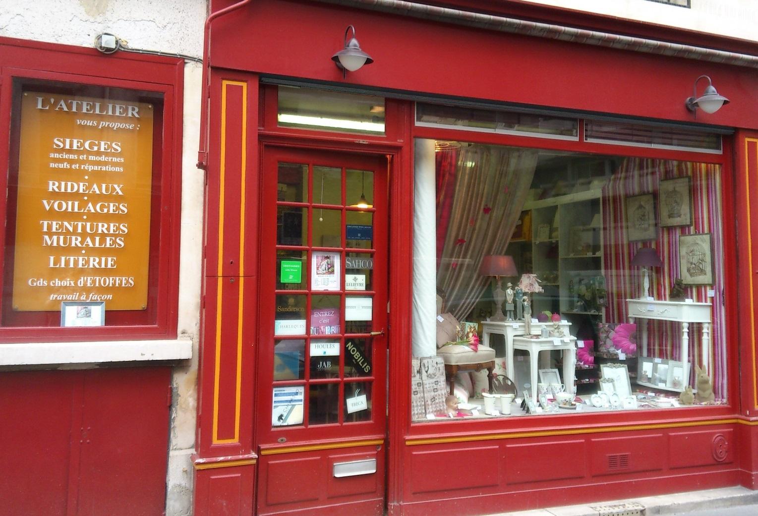 Tapissier Paris 20 l'atelier : tapisserie et conseil en décoration paris 15
